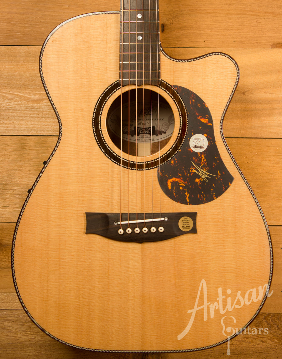 Maton 70th Anniversary 808 Cutaway Sitka Spruce and Blackwood ID-11496