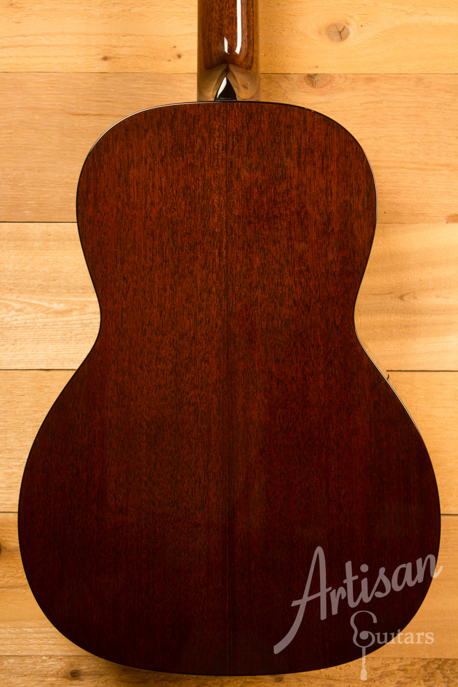 Collings Custom 001 Mh Mahogany with Walnut Stain Gloss Finish Pre-Owned 2016 ID-11504