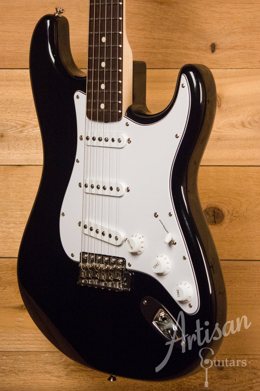 Fender Custom Shop 1960's Stratocaster NOS Gloss Black Finish Pre-Owned 2011 ID-11511