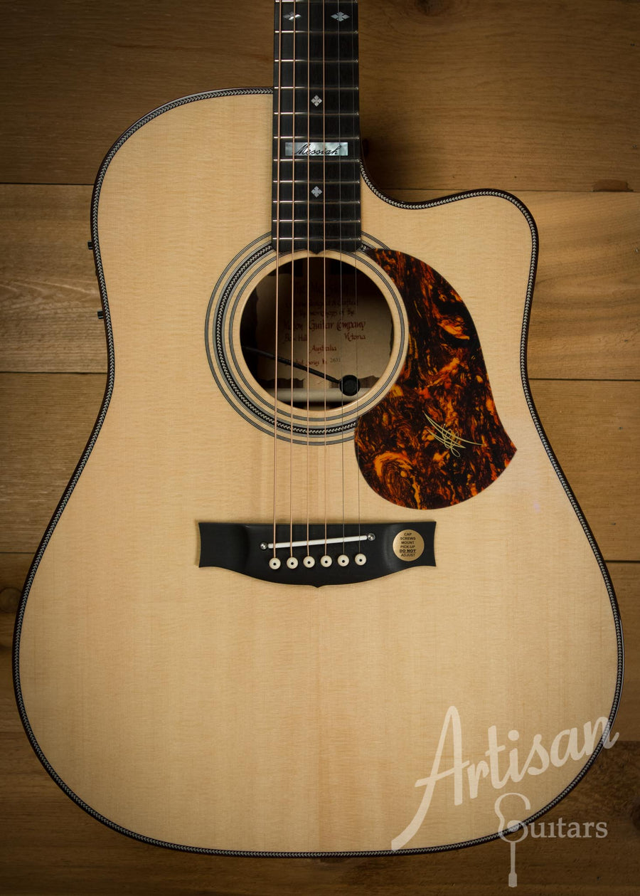 Maton EM100C Messiah Guitar Sitka Spruce and Indian Rosewood  ID-10127 - Artisan Guitars