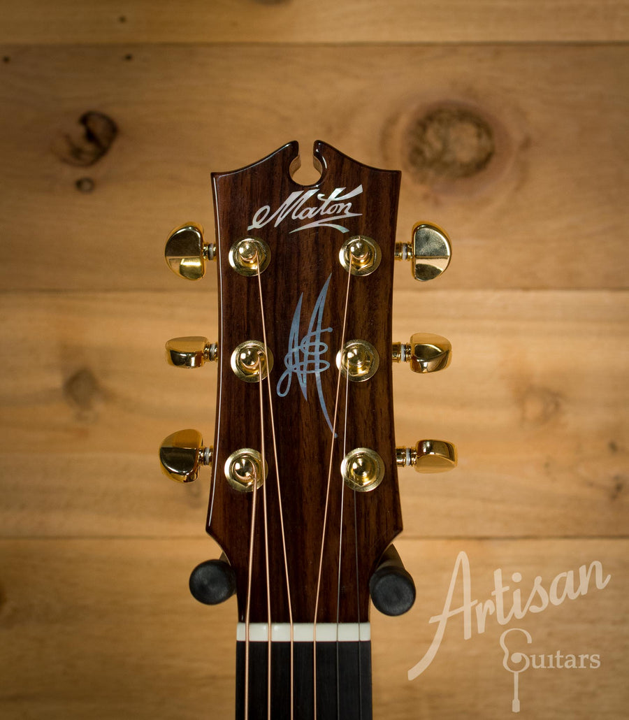 Maton EM100C Messiah Guitar Sitka Spruce and Indian Rosewood  ID-10127