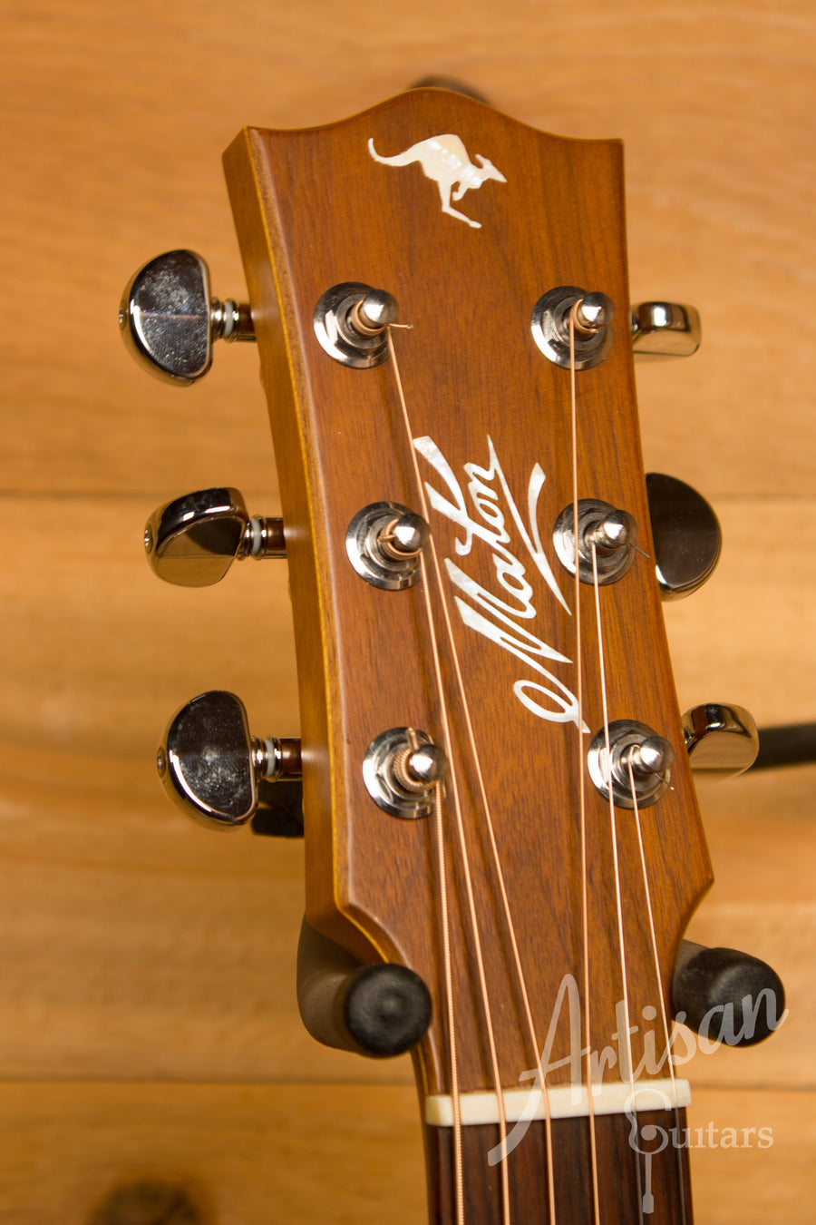 Maton EBG808TE Tommy Emmaunel Signature Sitka and Queensland Maple Pre-Owned 2013 ID-11309