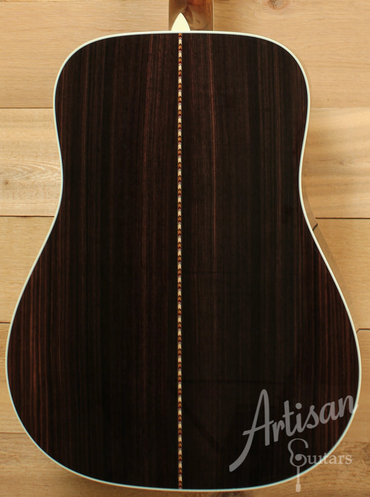 Collings D41 Sunburst Adirondack Spruce Top and Indian Rosewood Back and Sides ID-9340