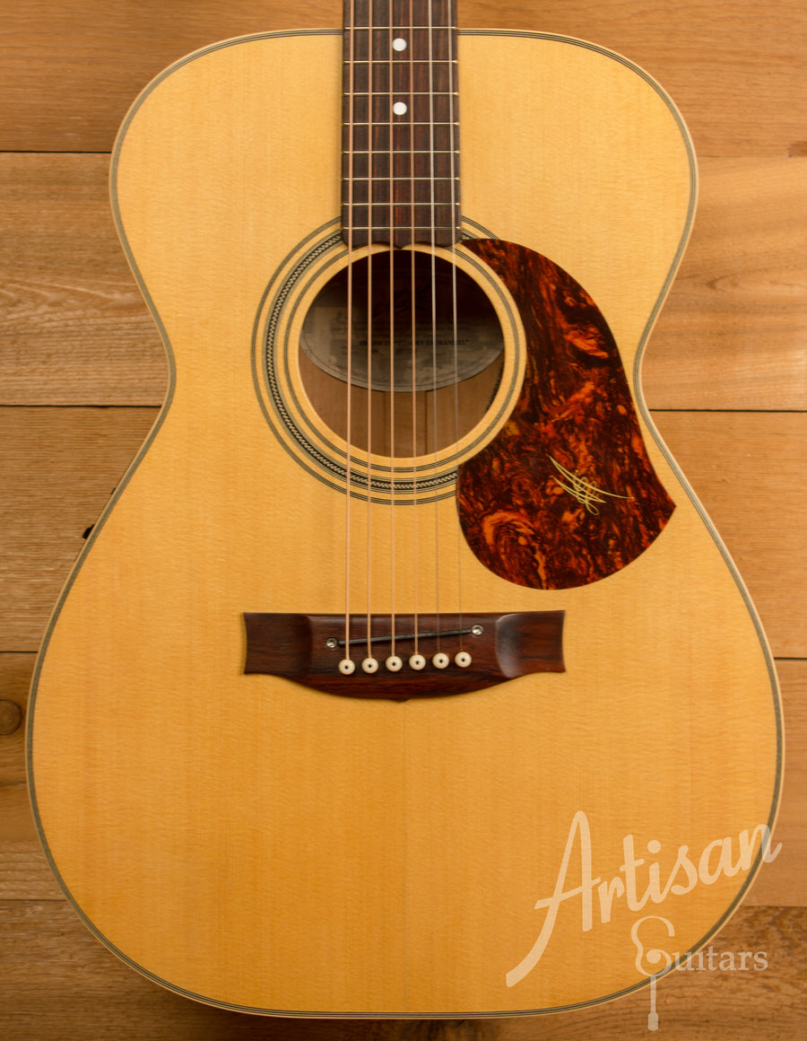 Maton EBG808TE Tommy Emmanuel Signature Sitka and Queensland Maple AP5 Mic Pre-Owned 2012 ID-11312