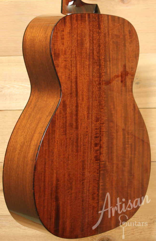 Collings OM1 Sitka Spruce and Mahogany Short Scale with Adirondack Braces and No Tongue Brace ID-8836