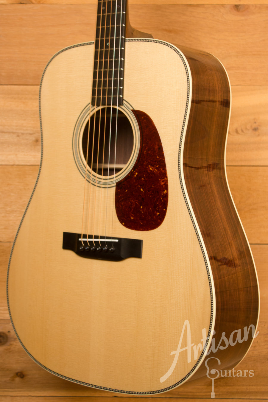 Collings D2HA Adirondack Spruce and Indian Rosewood with Flourish Inlay ID-11544 - Artisan Guitars