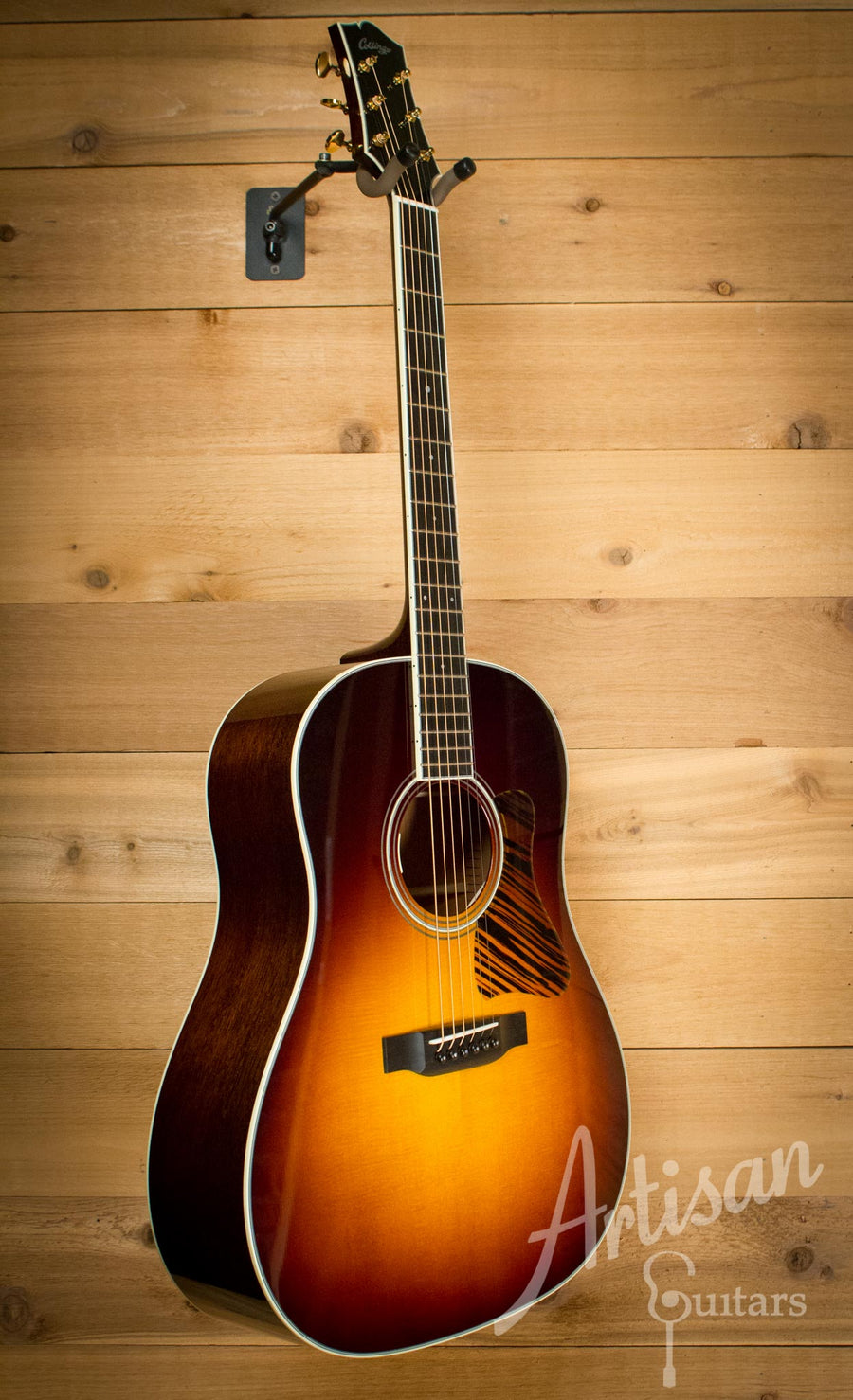 Pre Owned 2014 Collings CJ Sitka Spruce and Mahogany Short Scale ID-9493 - Artisan Guitars