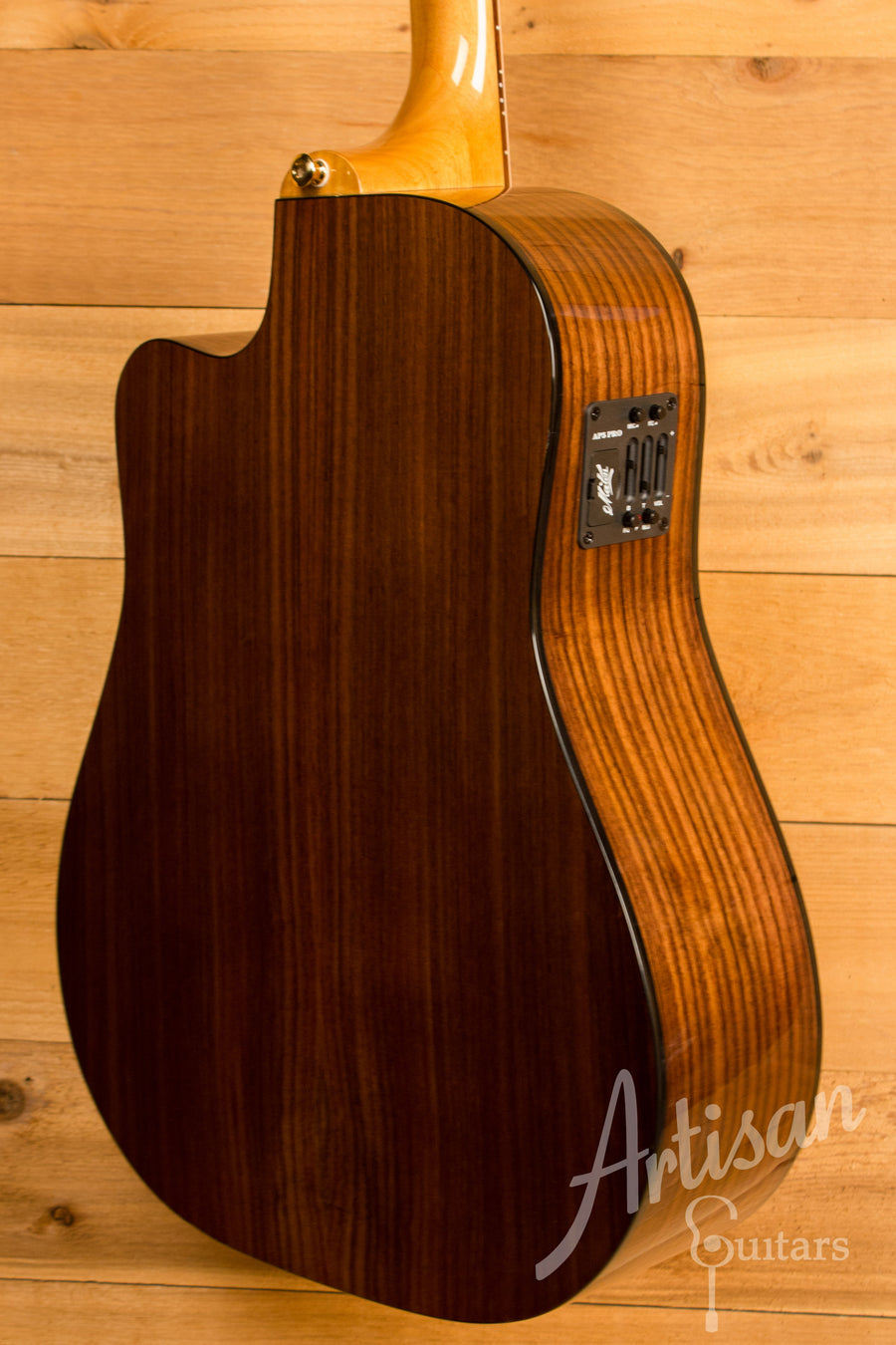 Maton TE1 Guitar Tommy Emmanuel Artist Sitka Spruce and Indian Rosewood AP5 Pro Pre-Owned 2014 ID-11323