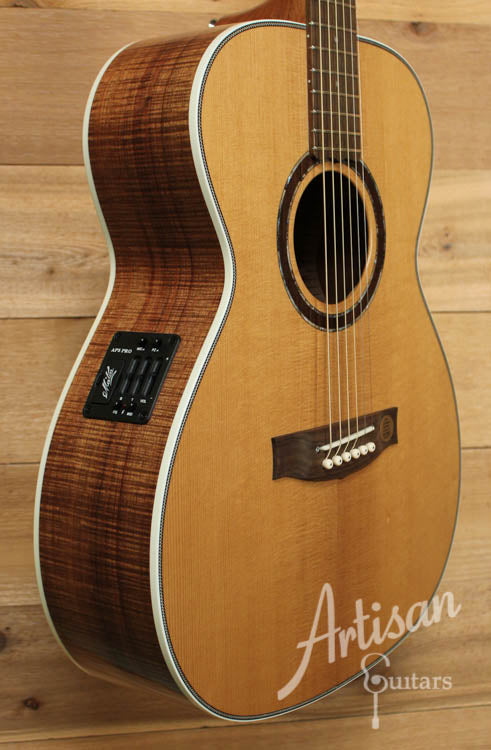 Maton Traditional Deep Custom Shop Model with Torrified Spruce and Blackwood ID-9056