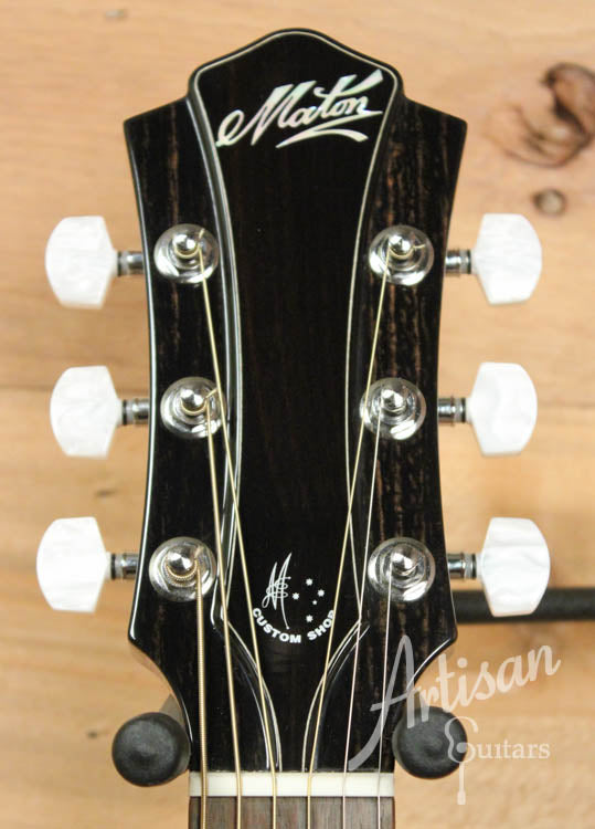 Maton Traditional Deep Custom Shop Model with Torrified Spruce and Blackwood ID-9056 - Artisan Guitars
