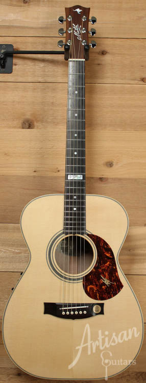 Maton EBG808TE Tommy Emmanuel Signature Sitka and Queensland Maple with APMIC pickup ID-8059