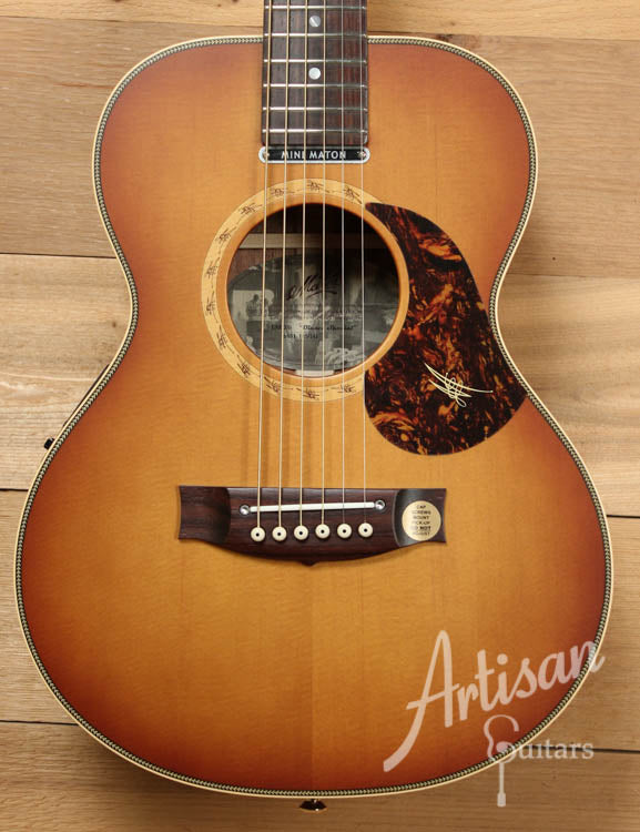 Maton EMD6 Mini Maton Diesel Sitka with Blackwood and Vintage Amber Sunburst ID-8725 - Artisan Guitars