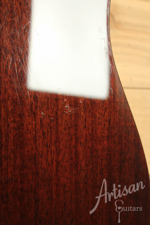 Pre Owned 2013 Collings D1H Mahogany Herringbone ID-6444 - Artisan Guitars