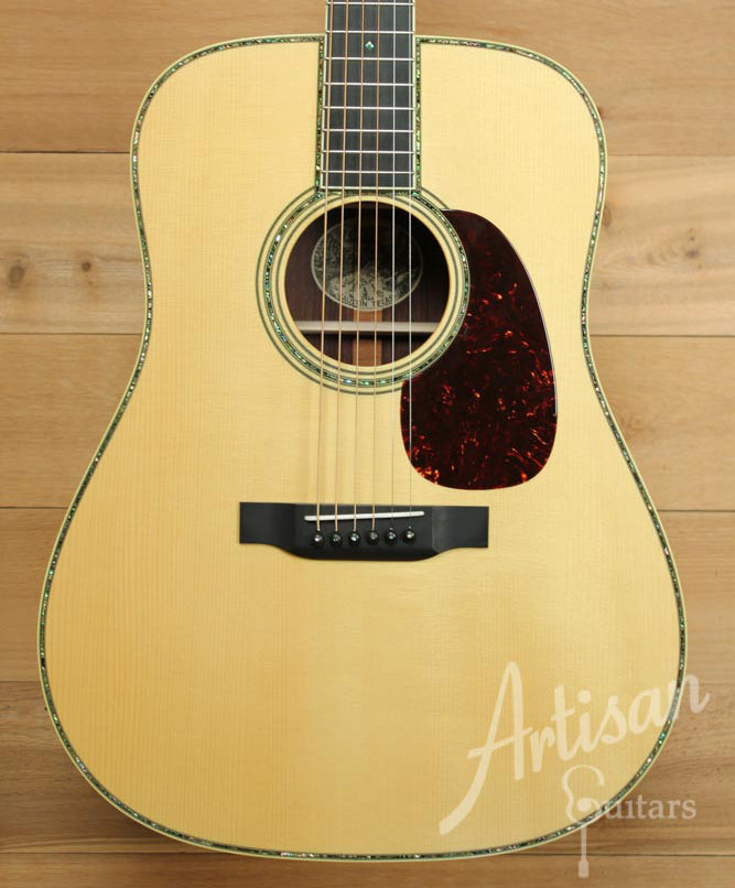 Collings D42 A Guitar Varnish Adirondack and Rosewood Dreadnought ID-8829 - Artisan Guitars