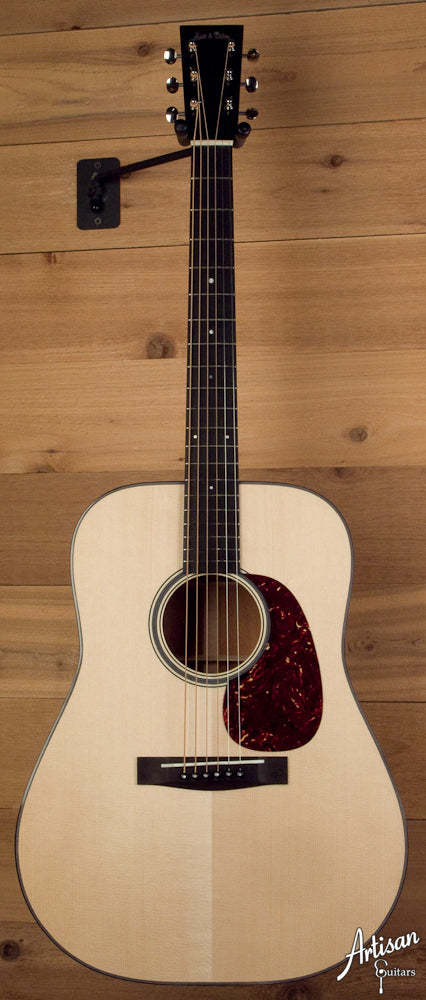 Huss and Dalton TD-M Custom with Adirondack Spruce Top and Sinker Mahogany ID-5215 - Artisan Guitars