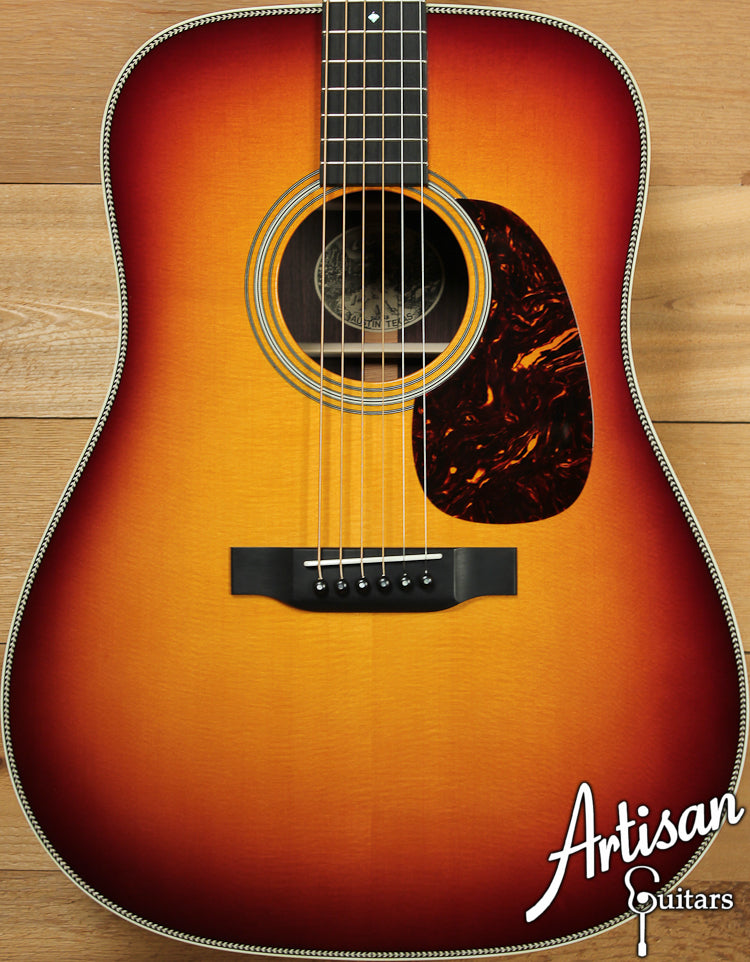 Pre Owned 2013 Collings D2H Sb Sitka Spruce and Indian Rosewood with Sunburst Top ID-7237