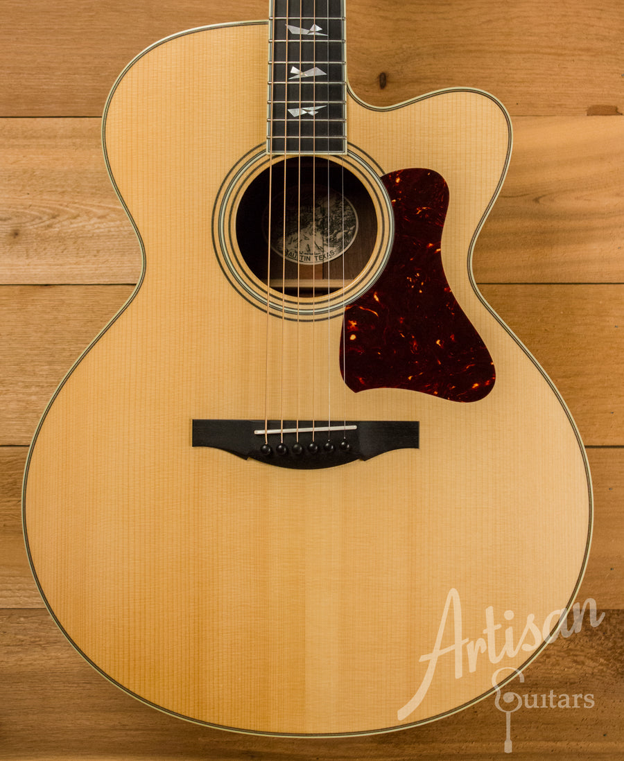 Collings Custom SJ Adirondack Spruce and Indian Rosewood Pre-Owned 2005 ID-10740 - Artisan Guitars