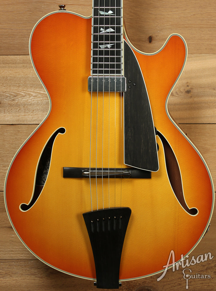 Collings CL Jazz Amber Burst Finish  ID-7523 - Artisan Guitars