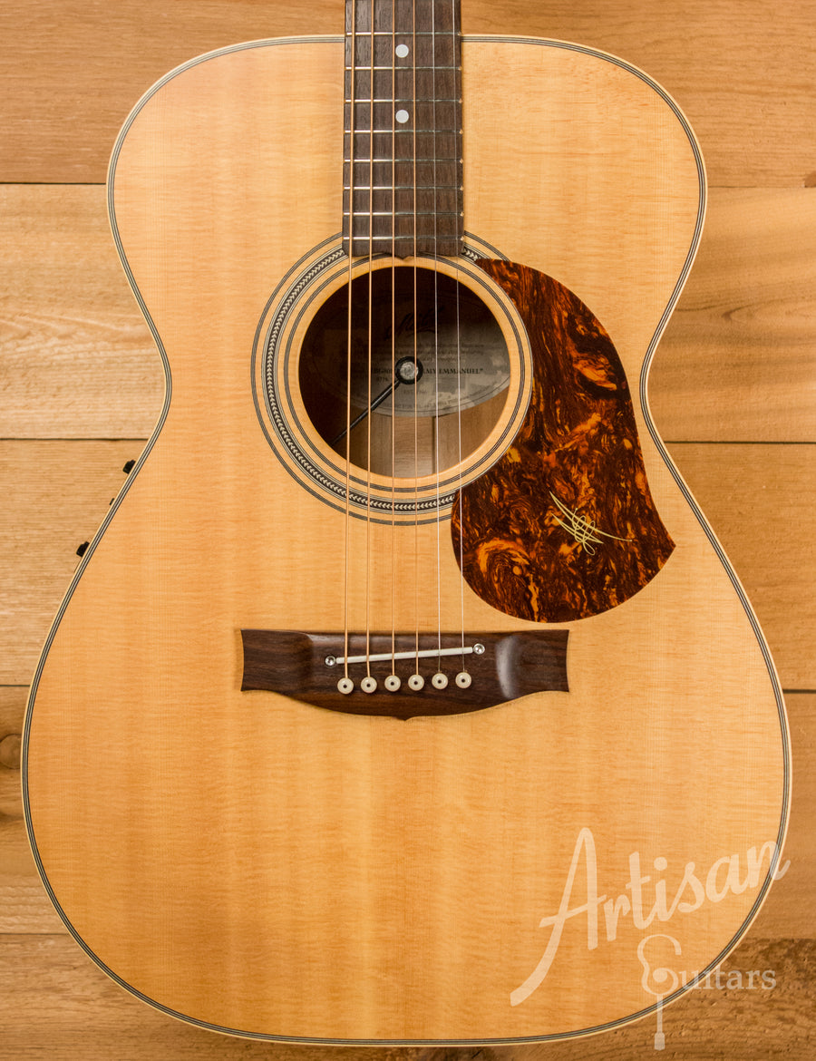 Maton EBG808TE Tommy Emmanuel Signature Sitka and Queensland Maple Pre-Owned 2013 ID-10753 - Artisan Guitars