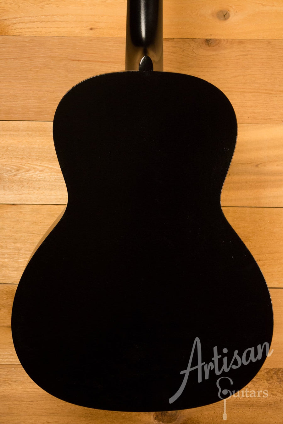 Waterloo WL-14L Guitar with Truss Rod Jet Black Finish and Small Neck Profile ID-10428 - Artisan Guitars