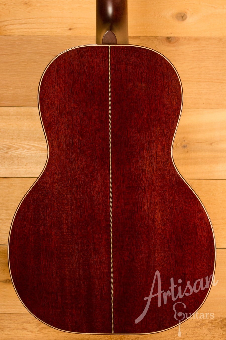 Huss and Dalton 0 SP Custom Mahogany Parlor Guitar Pre-Owned 2014 ID-10803 - Artisan Guitars