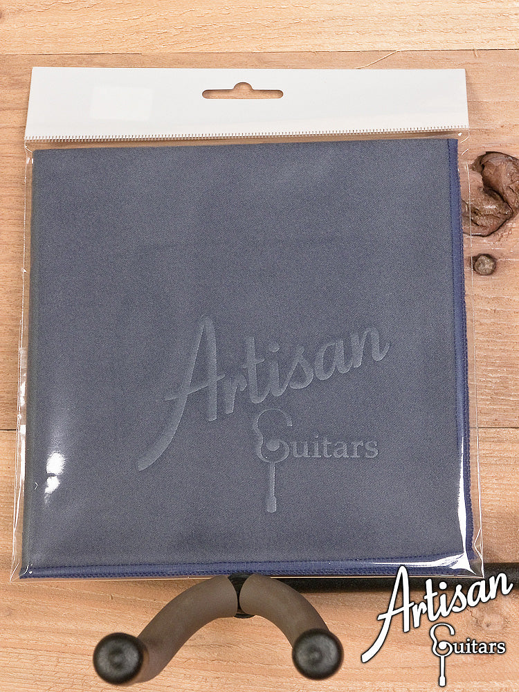 Artisan Guitars Smoke Blue Micro Suede Polish Cloth ID-6048