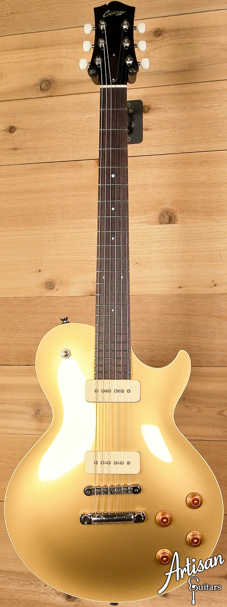 Collings City Limits Gold Top with Lollar Pickups ID-6049