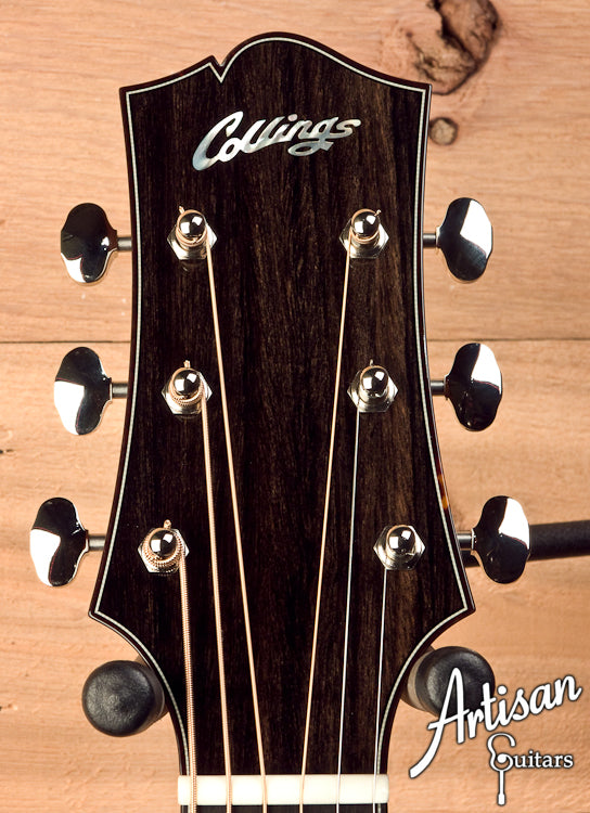 Collings CJ German Spruce and Indian Rosewood Short Scale Tobacco Sunburst Top ID-5705 - Artisan Guitars