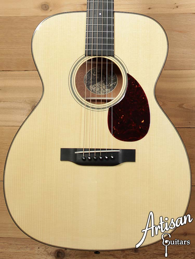 Collings OM1A Varnish Adirondack Spruce and Mahogany  ID-6380 - Artisan Guitars