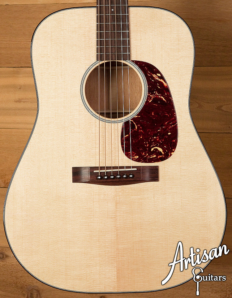 Huss and Dalton Road Edition Dreadnought - Sitka Spruce and Mahogany ID-6081 - Artisan Guitars