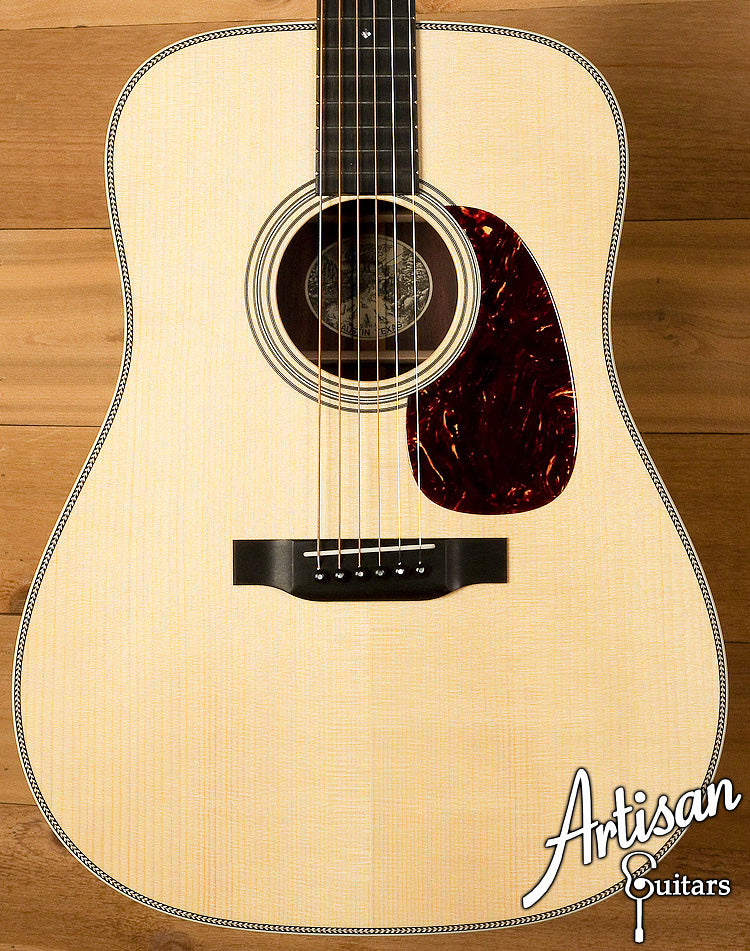 Collings D2HA Adirondack Top with No Tongue Brace ID-6095 - Artisan Guitars