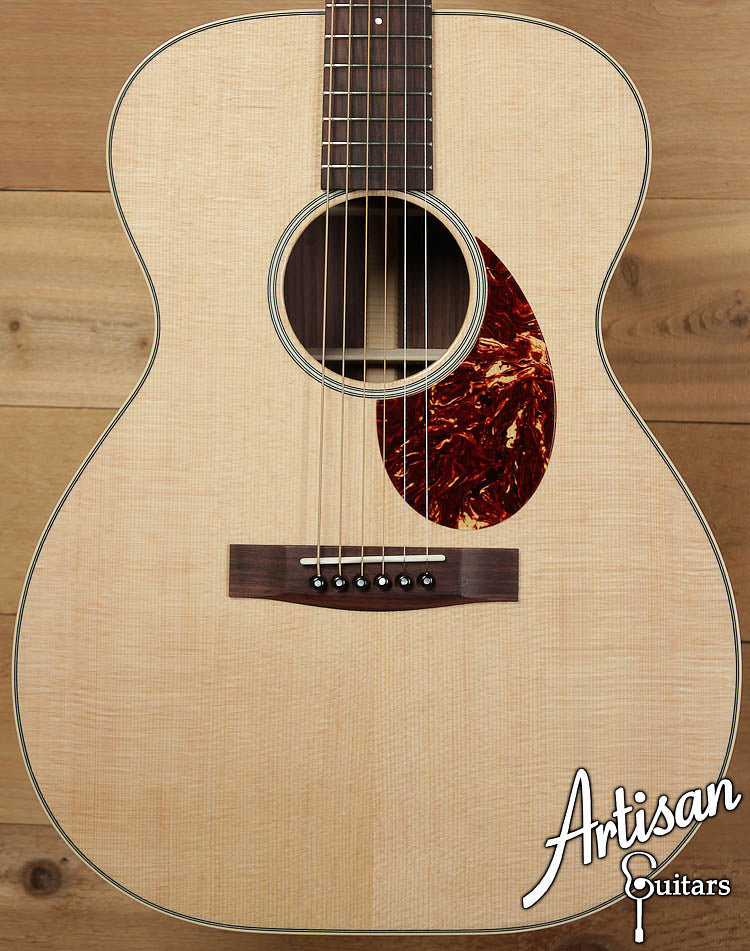 Huss and Dalton Road Edition OM Sitka Spruce and Indian Rosewood ID-8496 - Artisan Guitars