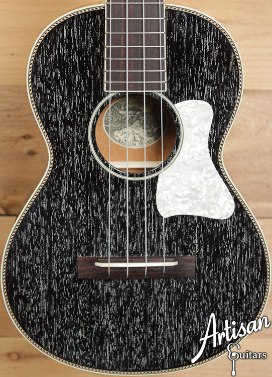 Collings UT2 Ukulele Mahogany Body Black Doghair Finish Pearloid Pickguard ID-6574
