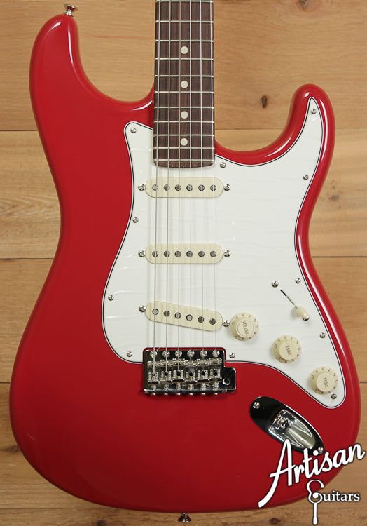 2010 Fender Custom Shop 1960 Red Stratocaster ID-6628