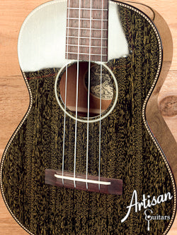 Collings UT2 Ukulele Mahogany with Gold Doghair Gloss Finish and Rope Top Purfling ID-5760