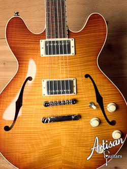 Collings I 35 Deluxe Flamed Maple Top Ice Tea Burst with Lollar Humbuckers ID-5743
