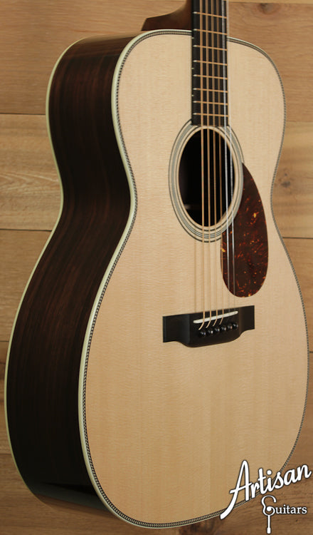 Pre Owned Collings OM2H SS Sitka Spruce and Indian Rosewood Short Scale ID-6719 - Artisan Guitars