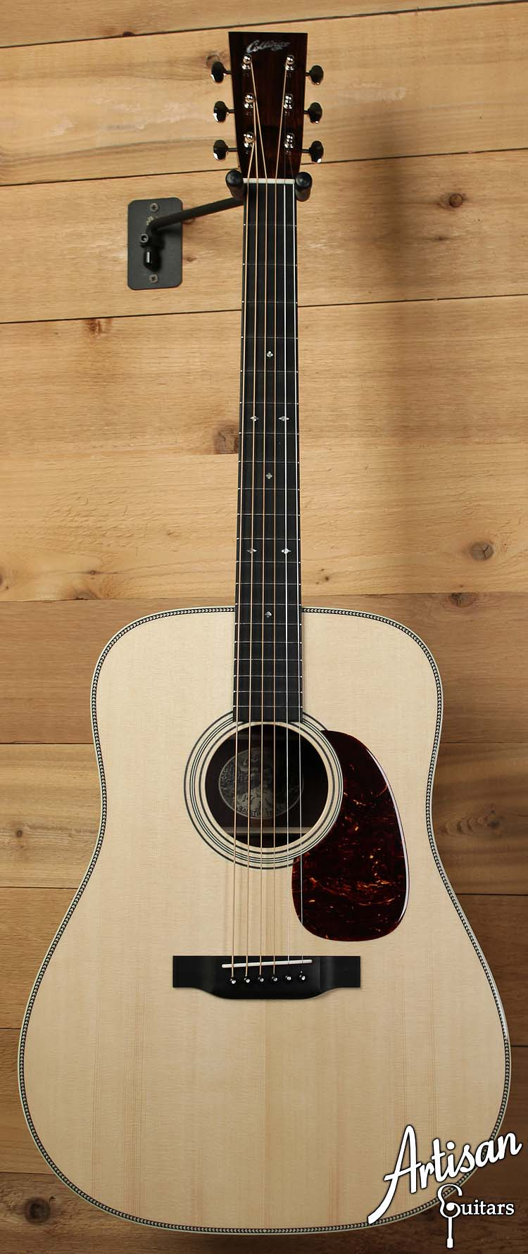 Collings D2HG German Spruce with Adirondack Bracing and Indian Rosewood Back and Sides No Tongue Brace ID-6332