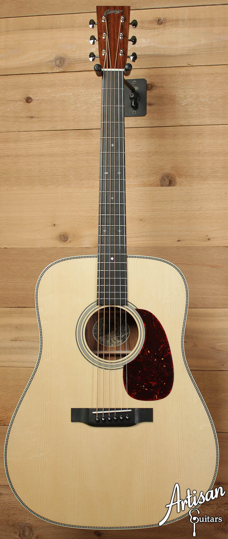 Collings D2HA Adirondack Spruce and Sacha Rosewood ID-6396 - Artisan Guitars