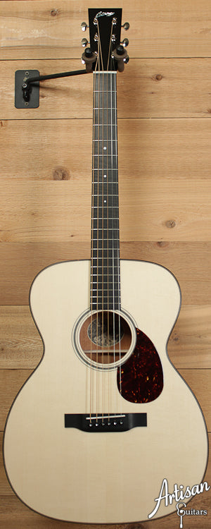 Collings OM1G German Spruce and Mahogany with Adirondack Braces ID-6559 - Artisan Guitars