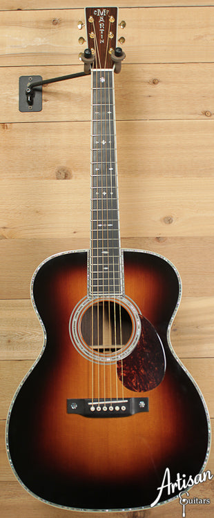 2004 Martin OM 42 Sitka Spruce and East Indian Rosewood with Sunburst ID-6562 - Artisan Guitars