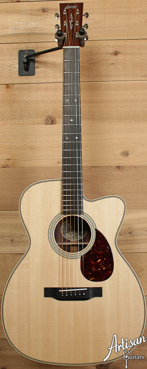 Pre-Owned Collings OM2H Cut Sitka Spruce and Indian Rosewood with Cutaway ID-6586 - Artisan Guitars
