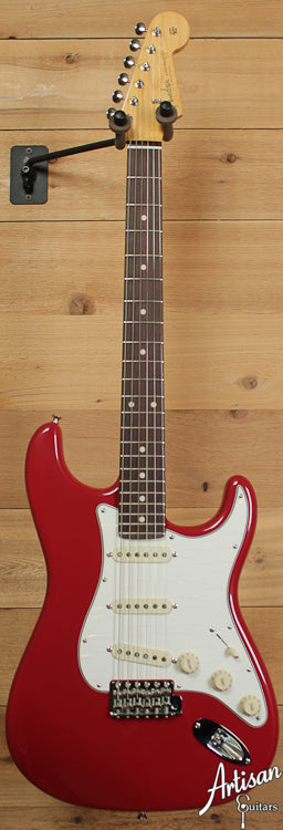 2010 Fender Custom Shop 1960 Red Stratocaster ID-6628 - Artisan Guitars