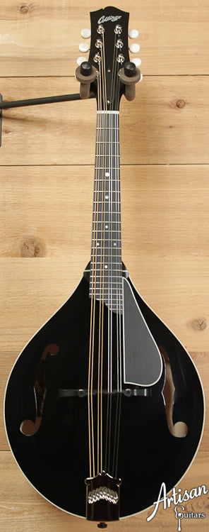 Collings MT Mandolin Engelmann Spruce and Maple A Style with Custom Black Gloss Top ID-6632 - Artisan Guitars