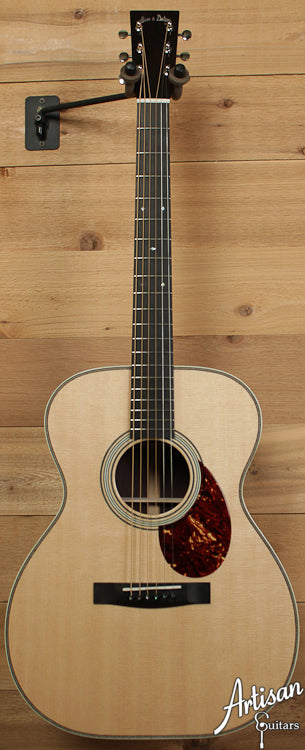 Huss and Dalton TOM-R Sitka and Indian Rosewood ID-6646 - Artisan Guitars