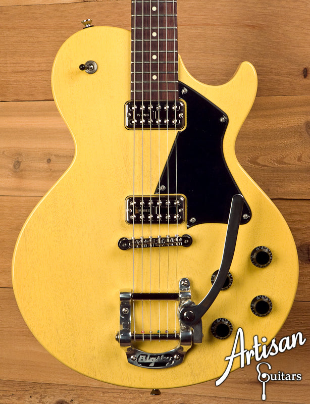 Collings 290TV Yellow with TV Jones Pickups and Bigsby Tremolo ID-5685 - Artisan Guitars