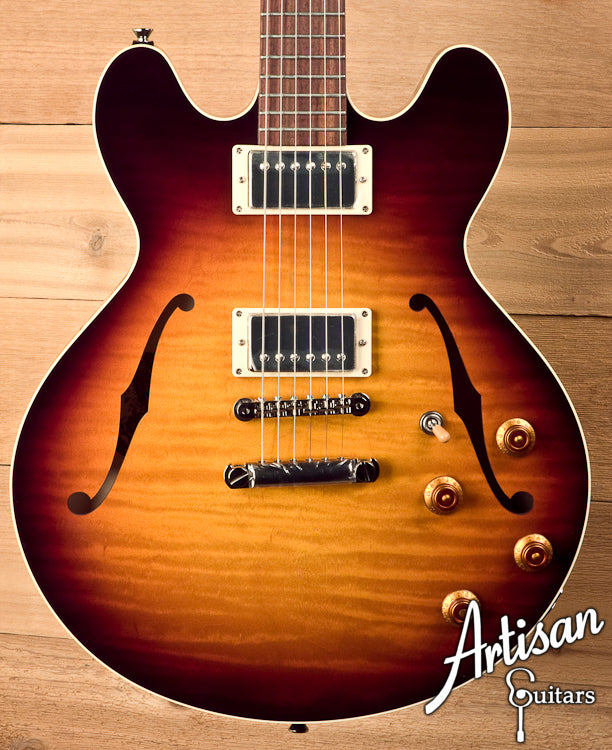 Collings I-35 LC Laminate Construction Tobacco Sunburst Translucent Back and Sides ID-5688 - Artisan Guitars