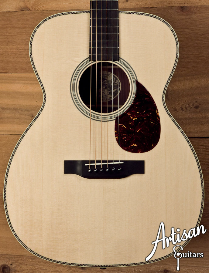 Collings OM2HG-DD German Spruce and Indian Rosewood with Deep Body ID-5593 - Artisan Guitars
