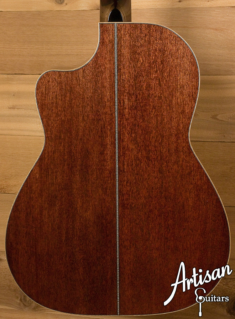 Huss and Dalton CM Cutaway Engelmann Spruce and Mahogany ID-6271 - Artisan Guitars