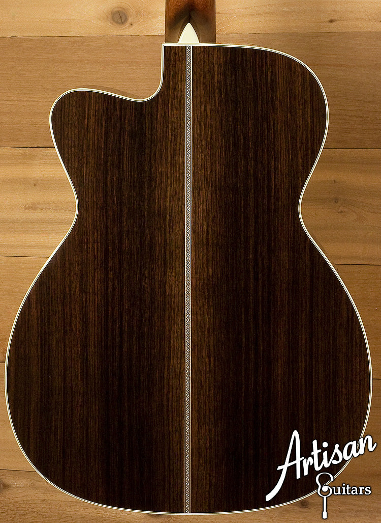 Collings OM2HG German Spruce Indian Rosewood with Cutaway ID-6155 - Artisan Guitars